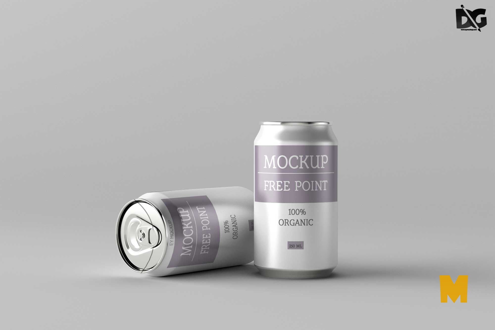 Label Packaging Mockup