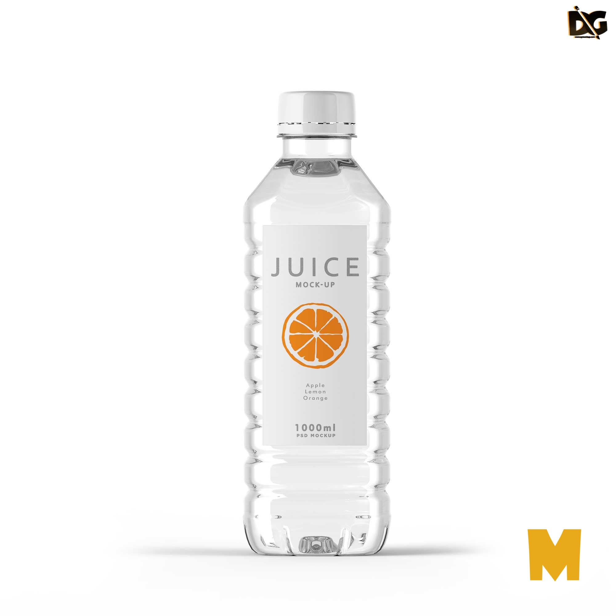 Free Water Bottle Labels Mockup