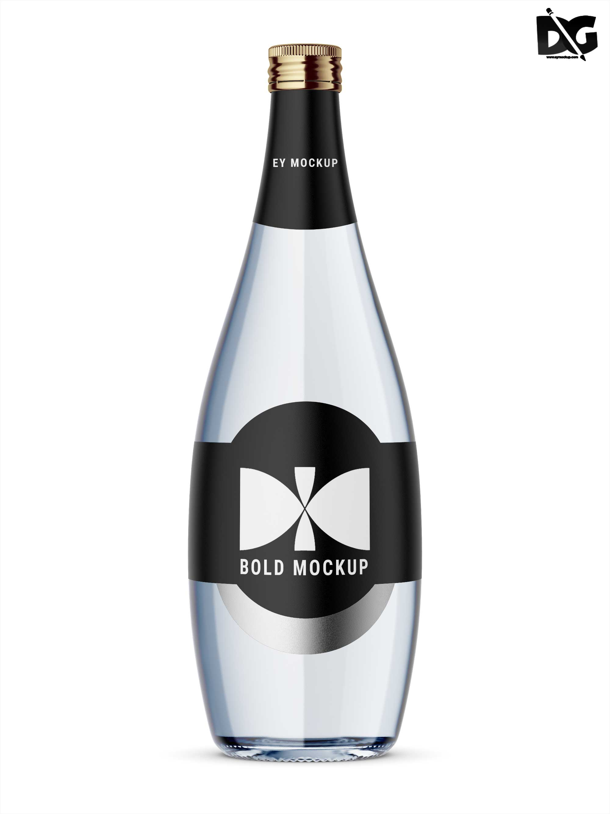 Vodka Label Mockup