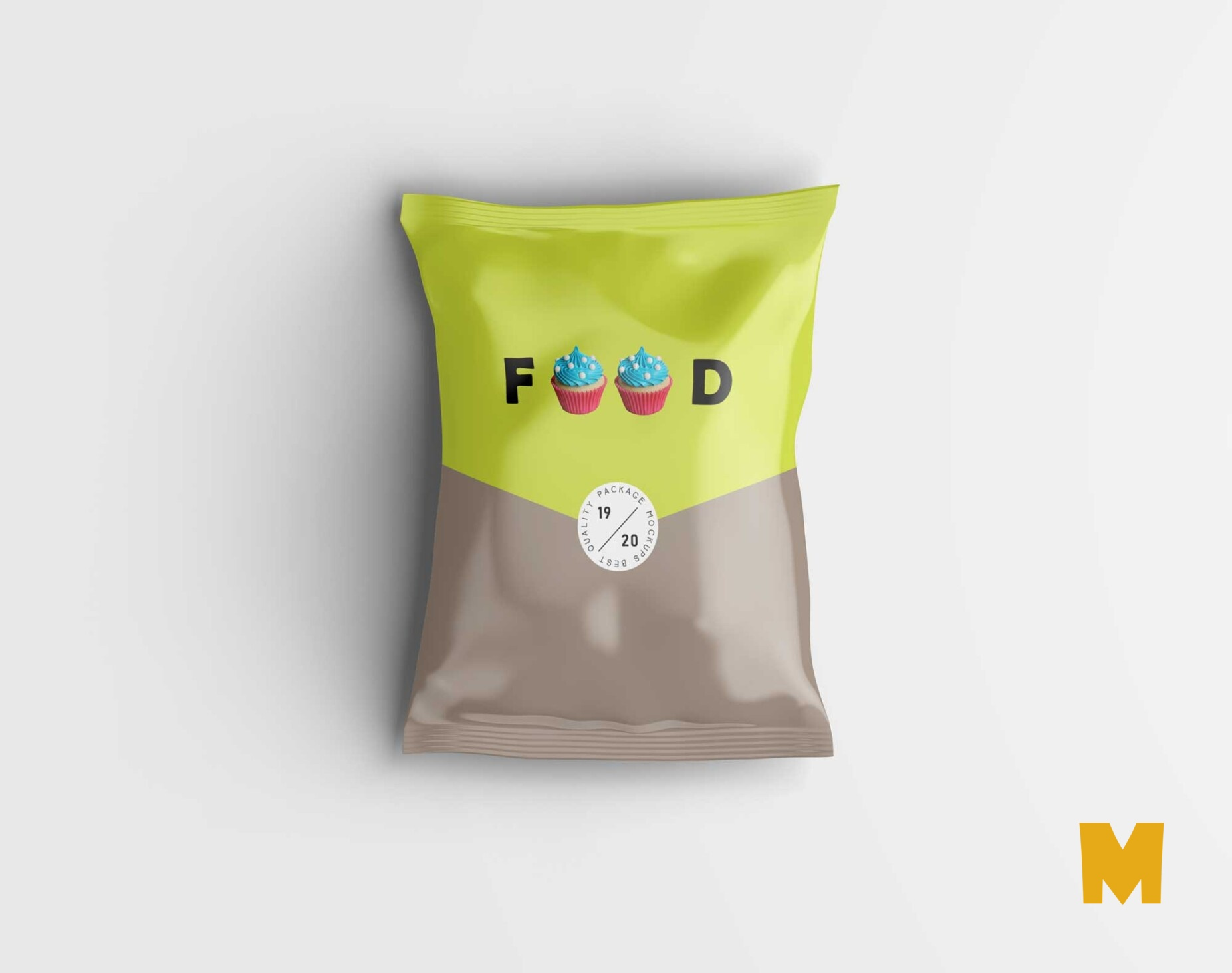Free Oye Yes Pouch Label Mockuo
