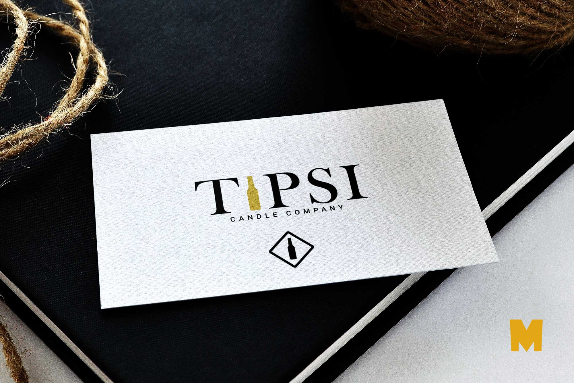 Tipsi Business Card Mockup 2019
