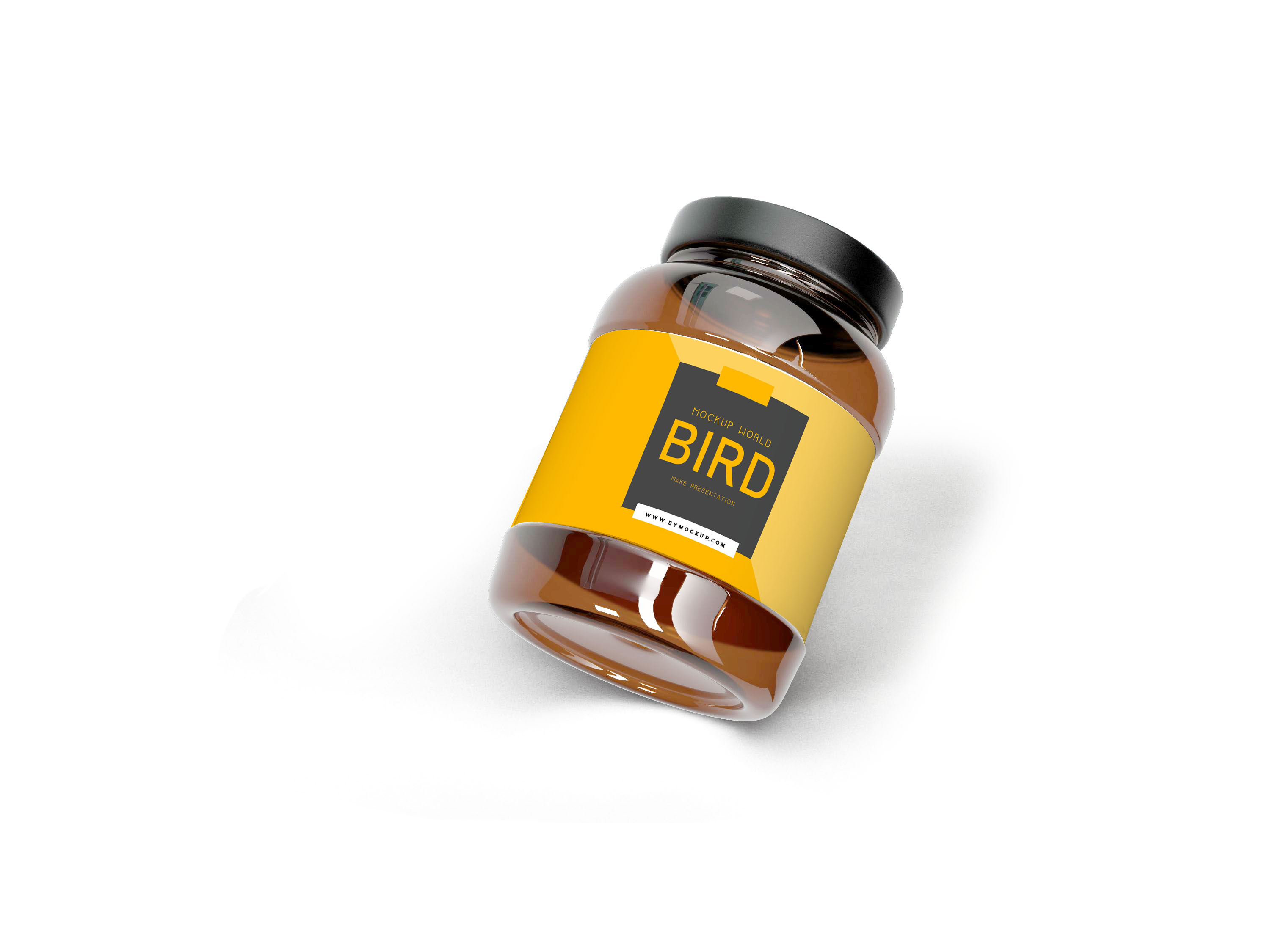 New Jar Bottle Label Mockup