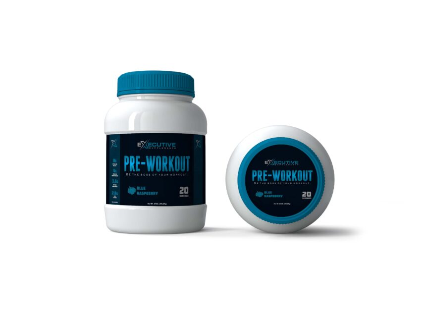 Prime Black White Gym Bottle Mockup
