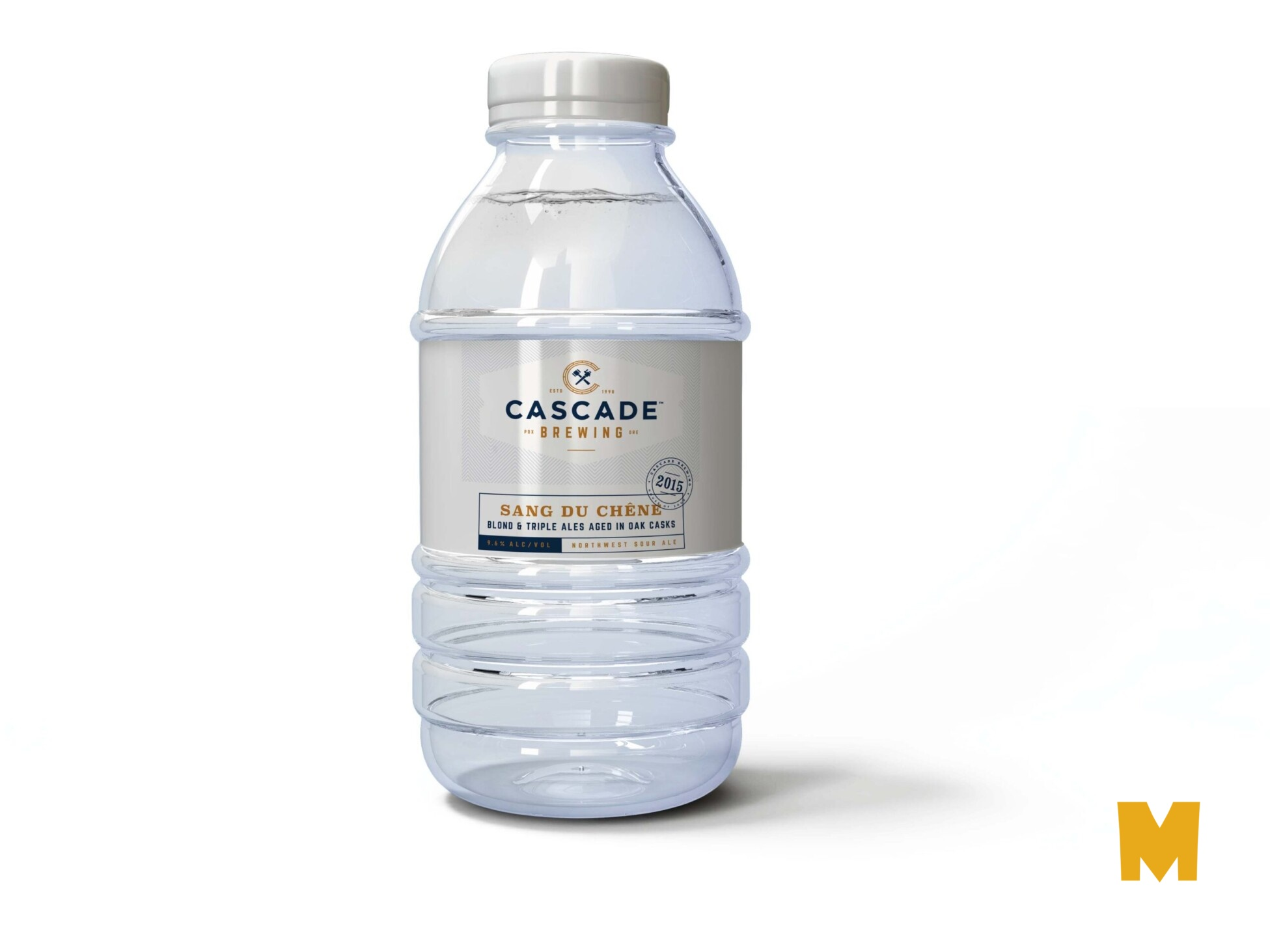Prime Evain Pure Water Bottle Mockup
