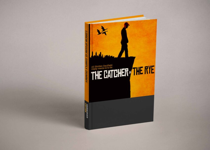 Free Book Cover Design Mockup