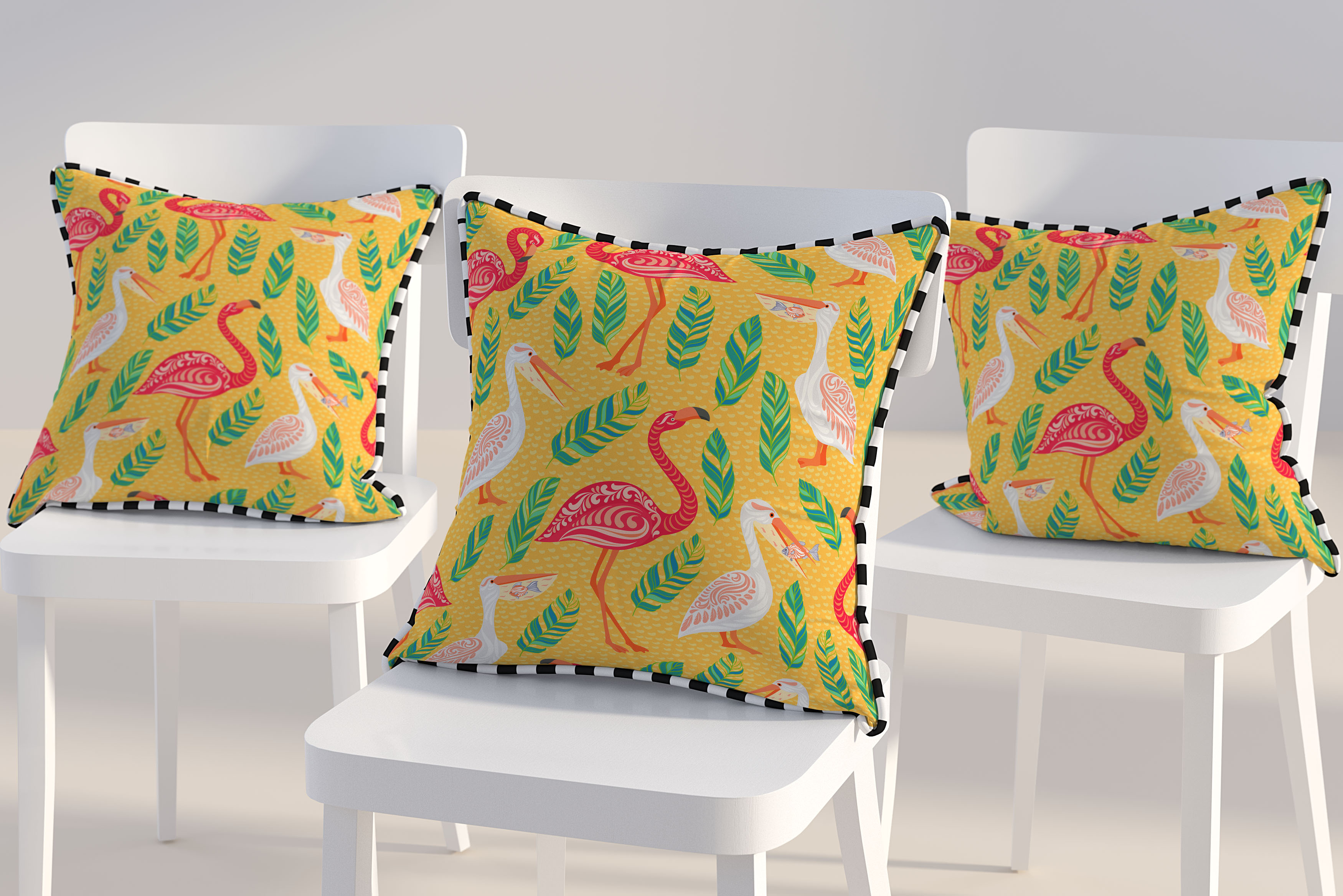 Free Pillow Cover Design Mockup