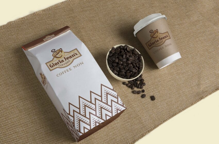 Glory Coffee Packaging Mockup