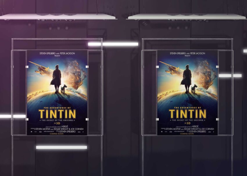 New Movie Poster Presentation Mockup