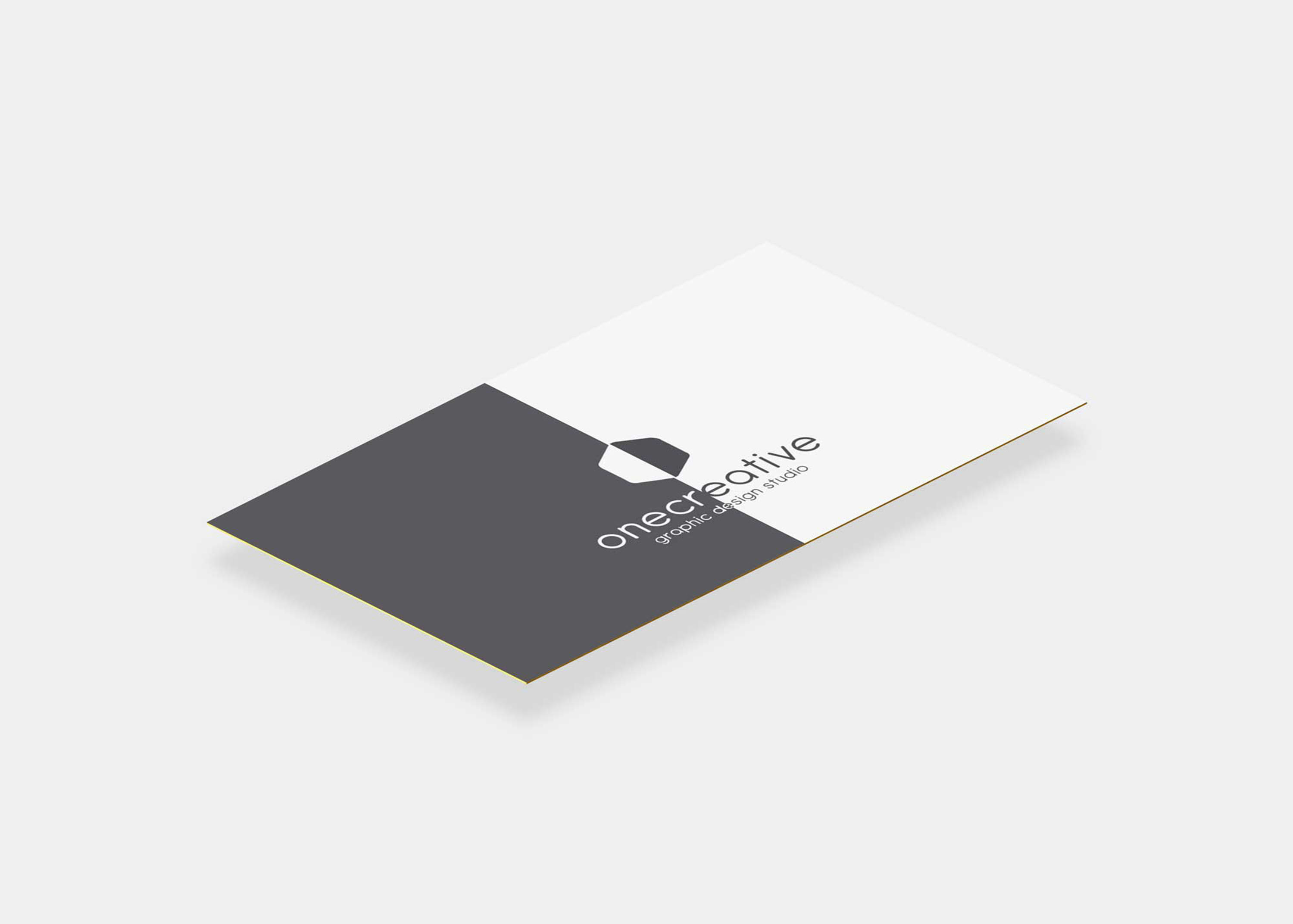 Grey Business Card Mockup Collection