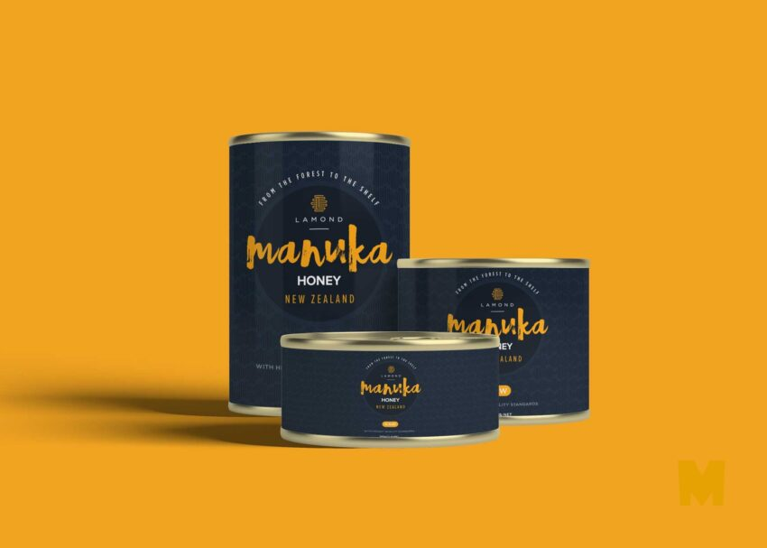 Free Can Label Mockup Download