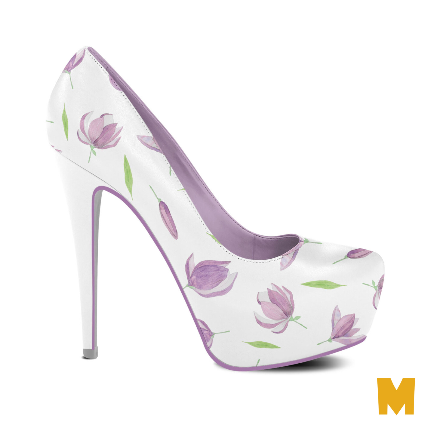 Free Ladies Party Shoes Design Mockup