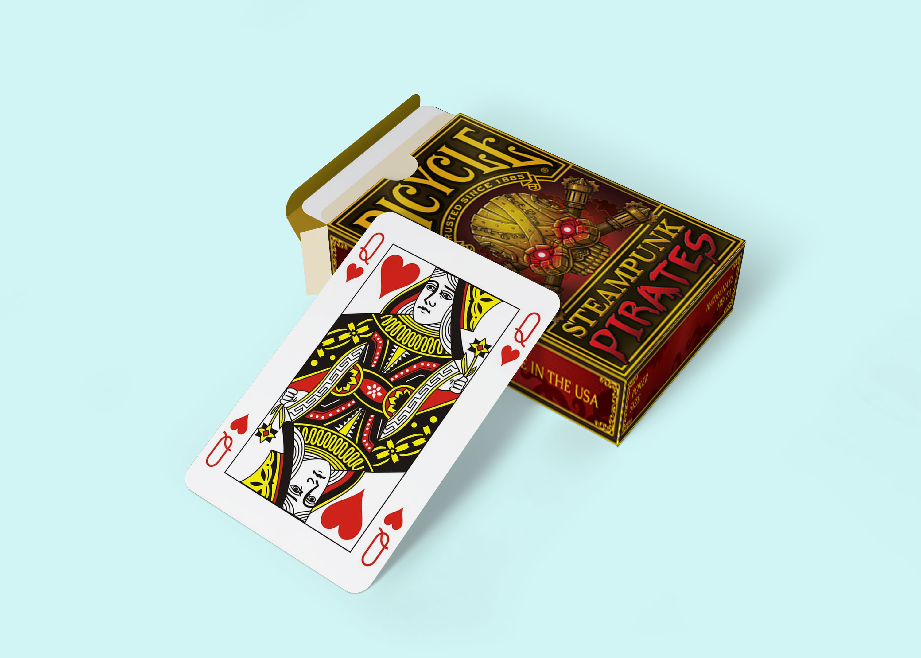 Free New Playing Card Mockup