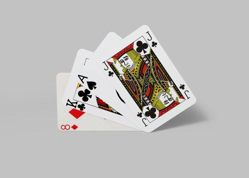 Free Premium PSD Tarot Cards Mockup