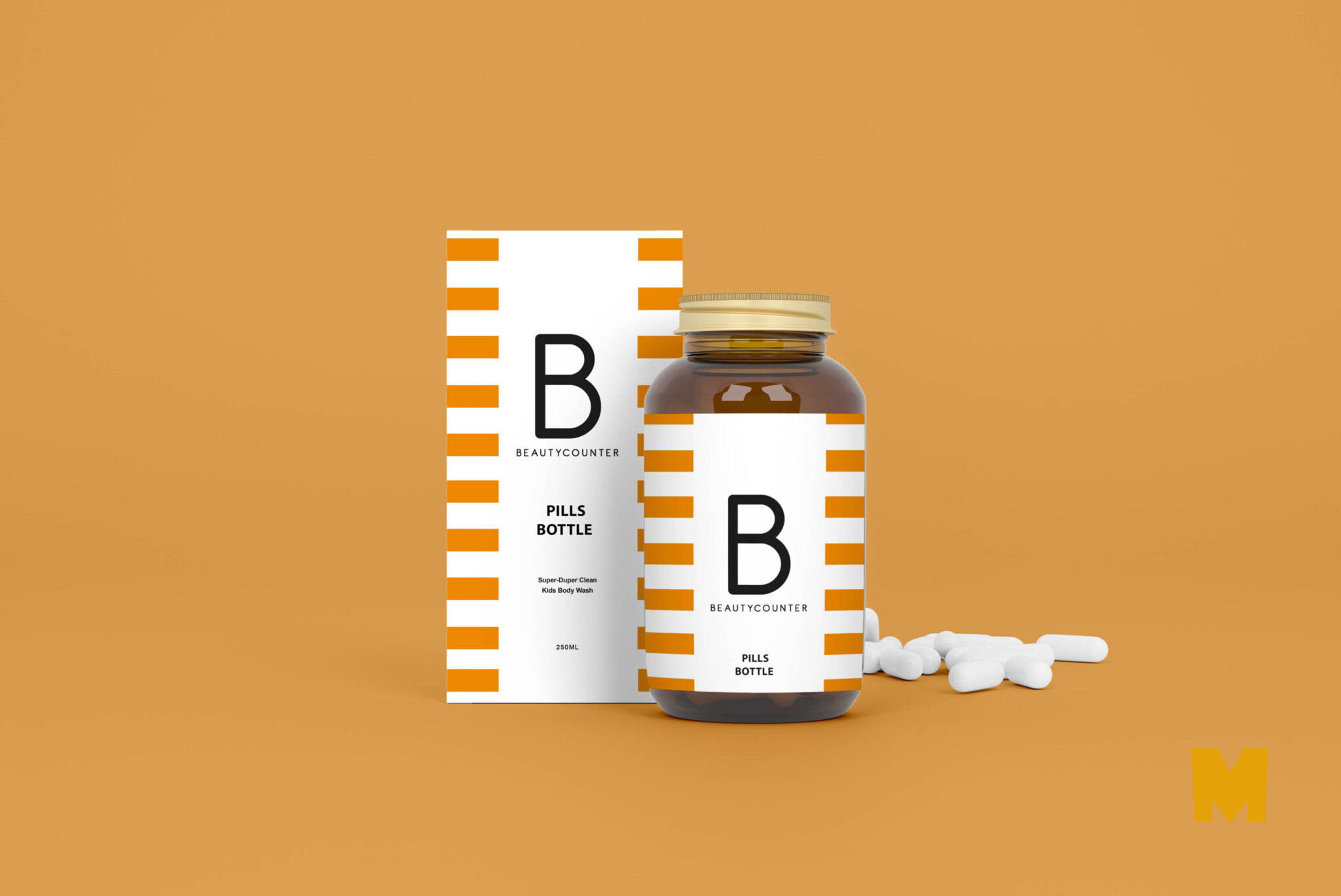 Medical Bottle Mockups