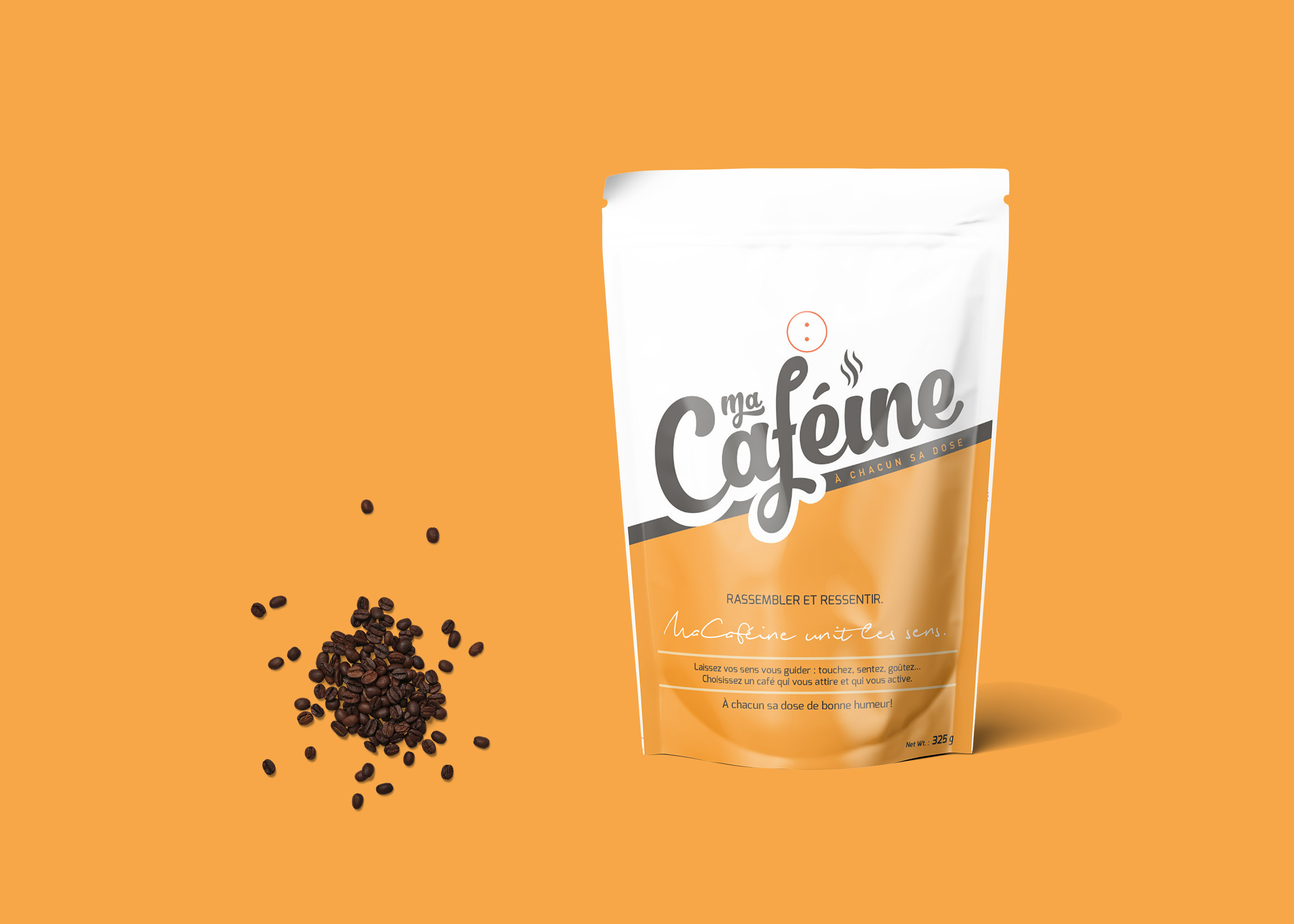Coffee Collection Pouch Mockup