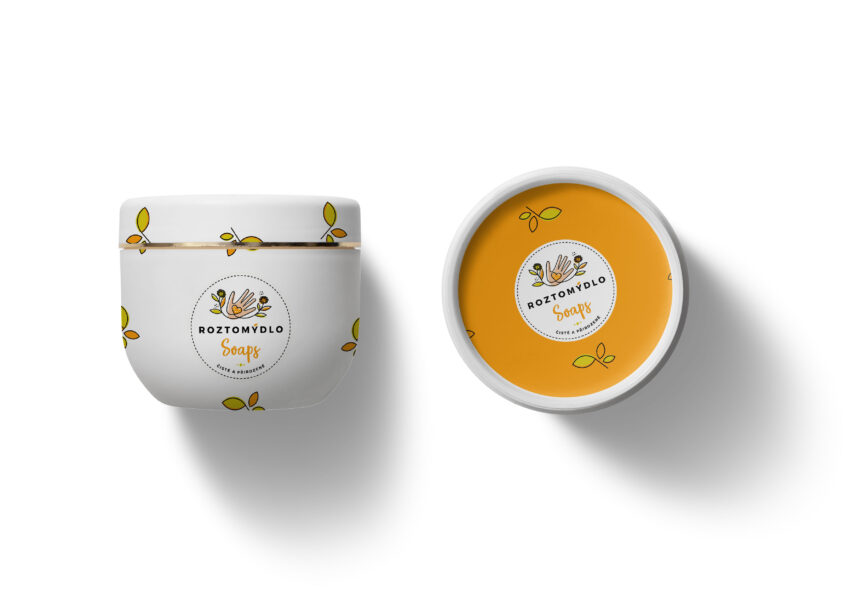 Cosmetic Cream Label Mockup