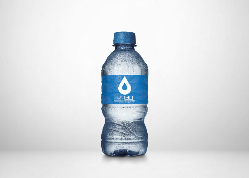 Free New Mineral Water Bottle Label Mockup
