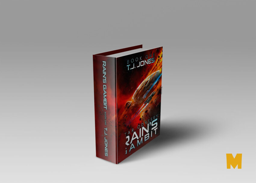 Free PSD New Book Cover Mockup