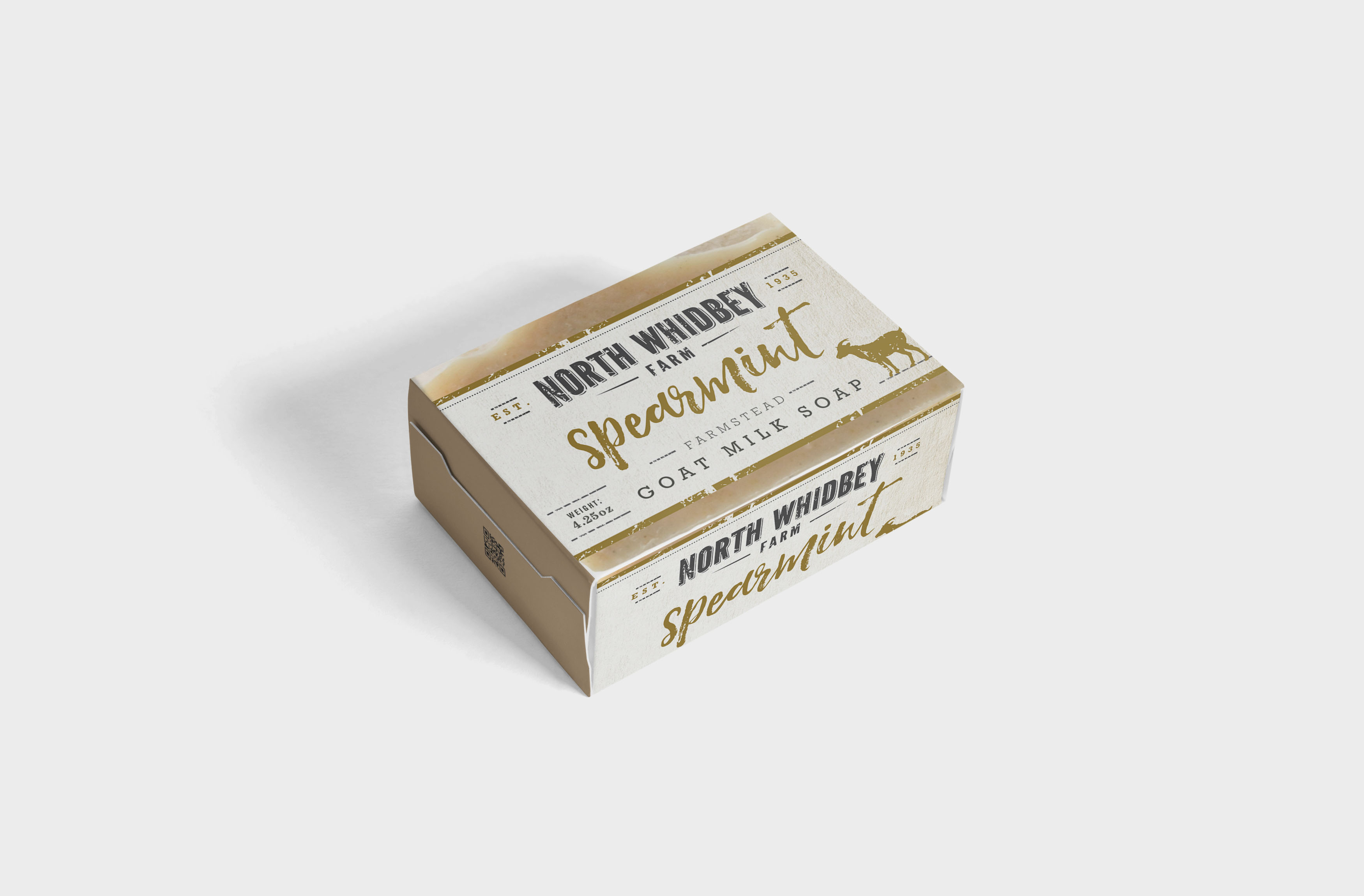 Premium Beauty Soap Label Mockup