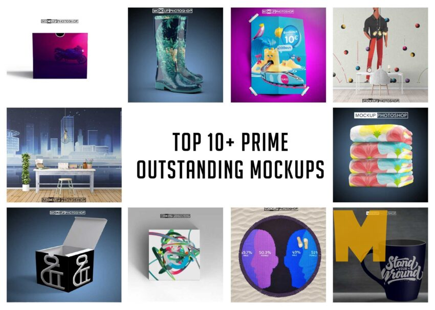 Latest Top 10+ Prime Outstanding Mockups