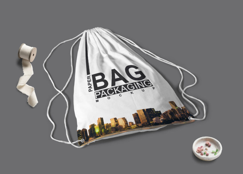 Free Backpack PSD Mock Up
