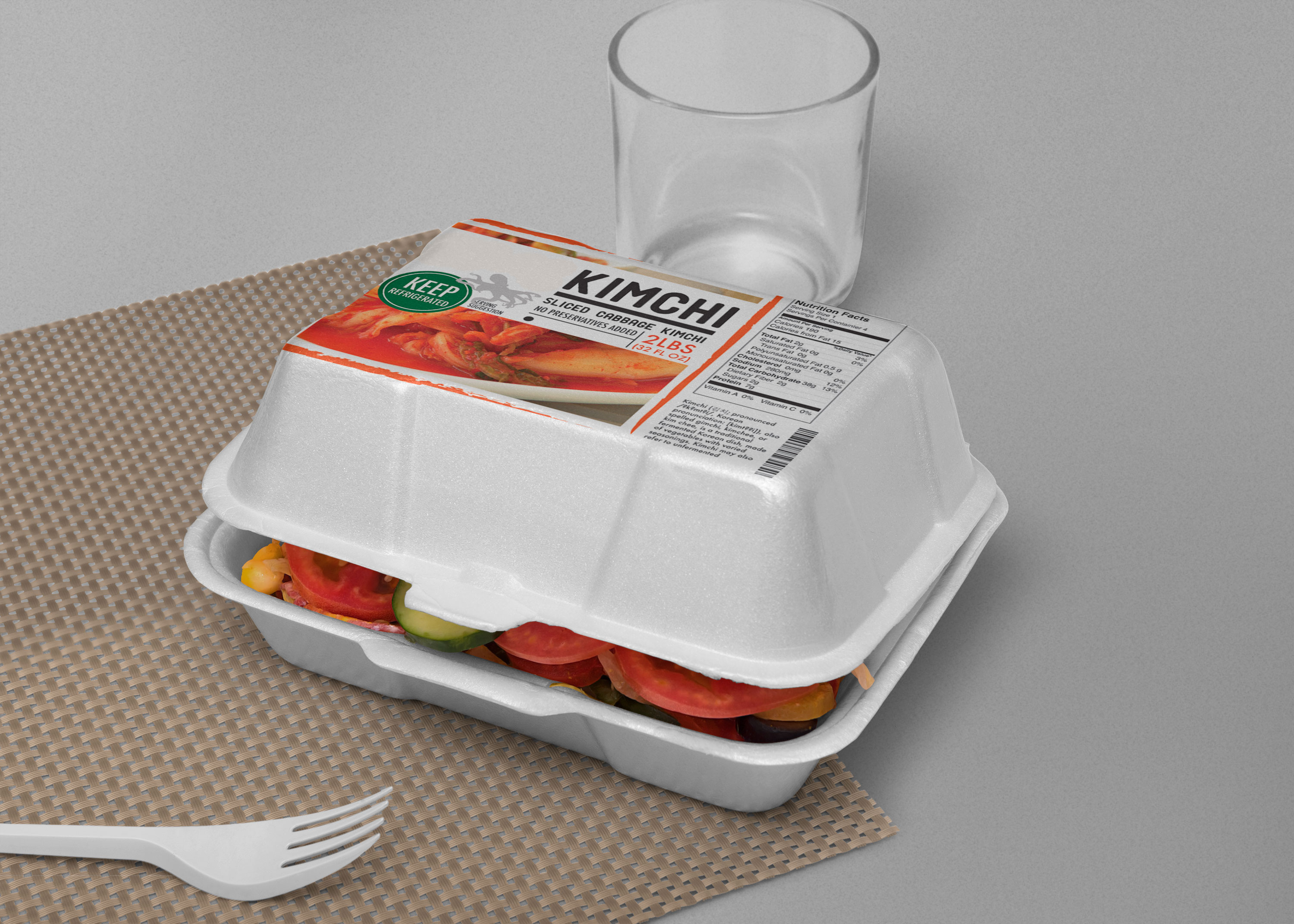 Fast Food Packaging Mock Up