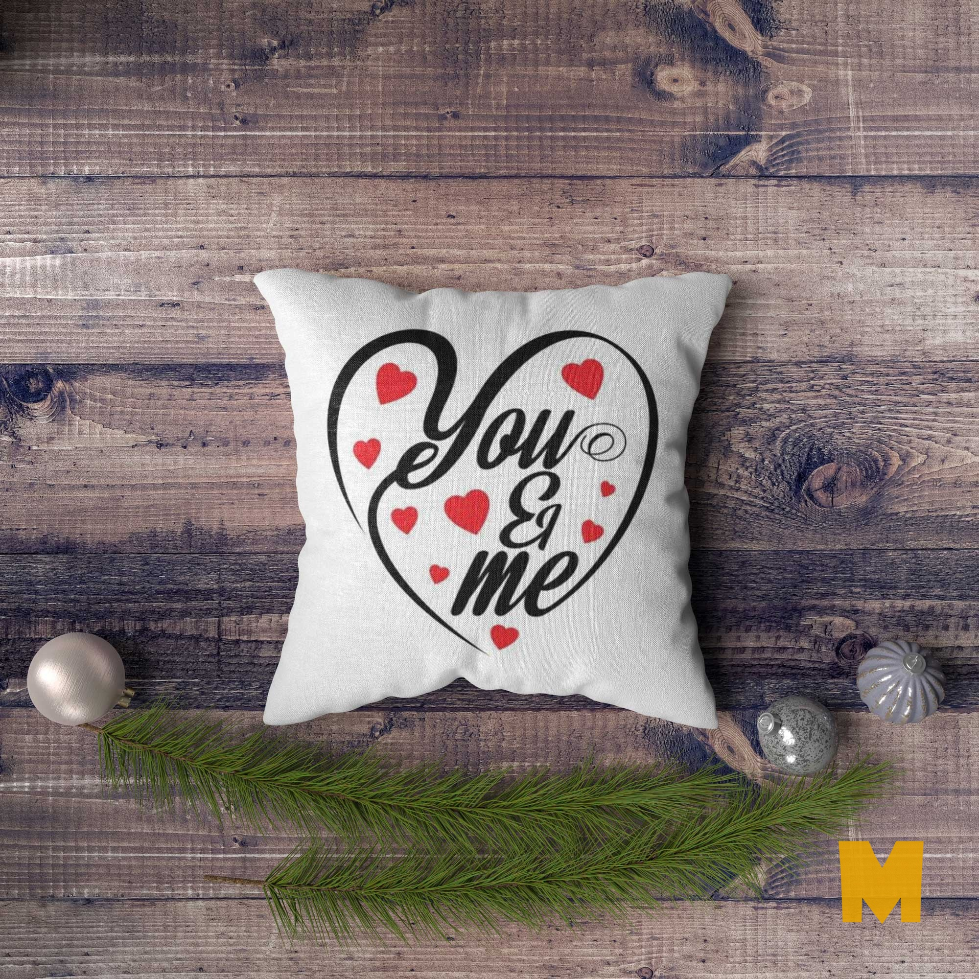 Cushion Cover PSD Mock Up