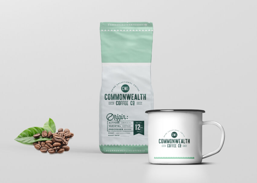 Pouch Coffee Cup Mockup
