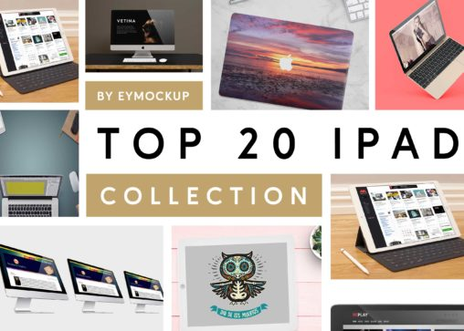Top 20 Latest ipad Mockup Collection
