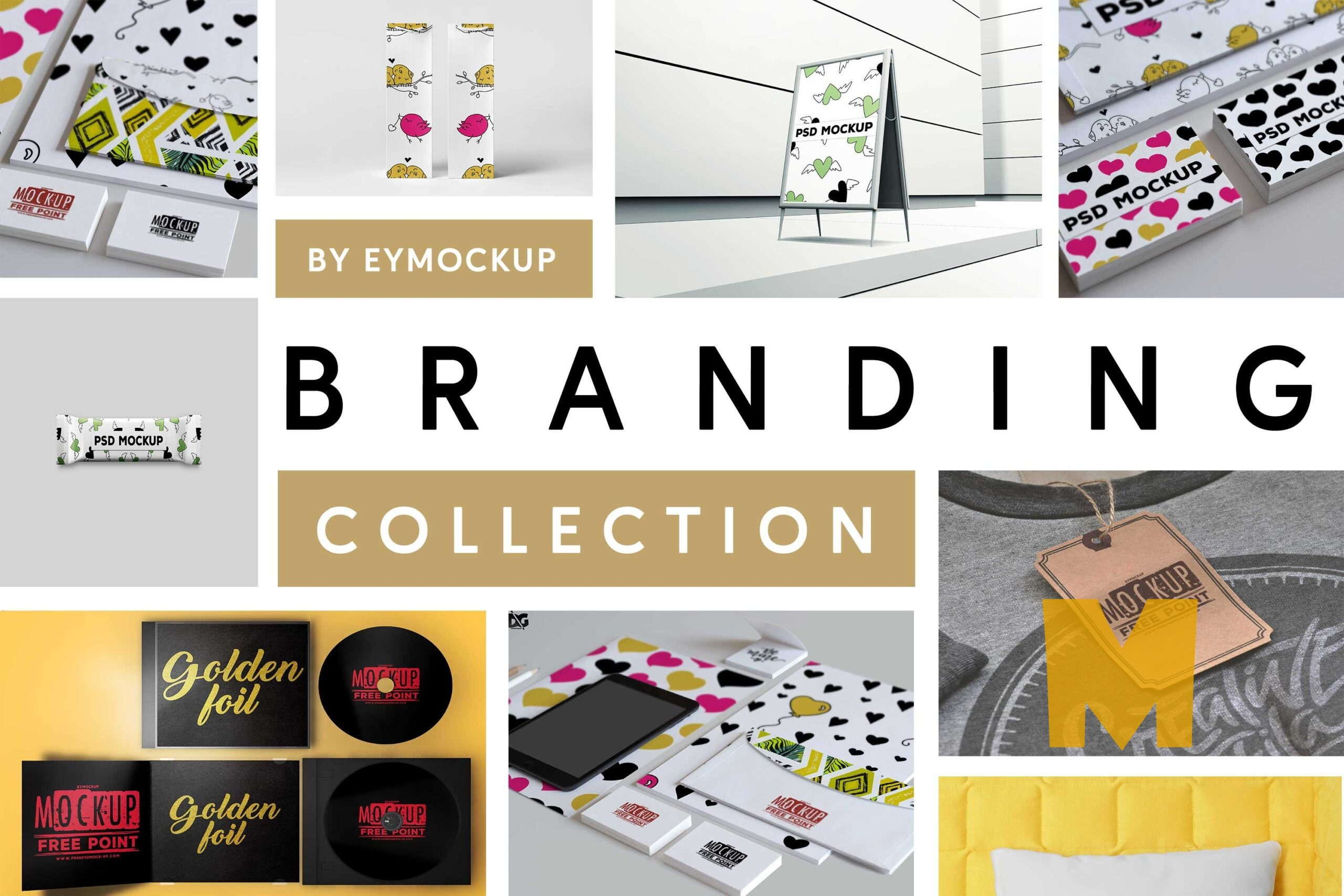 Top 10 Branding Mockup Collection
