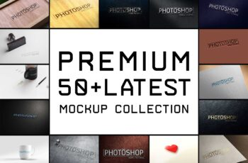 Top 50 Latest Mockup Collection