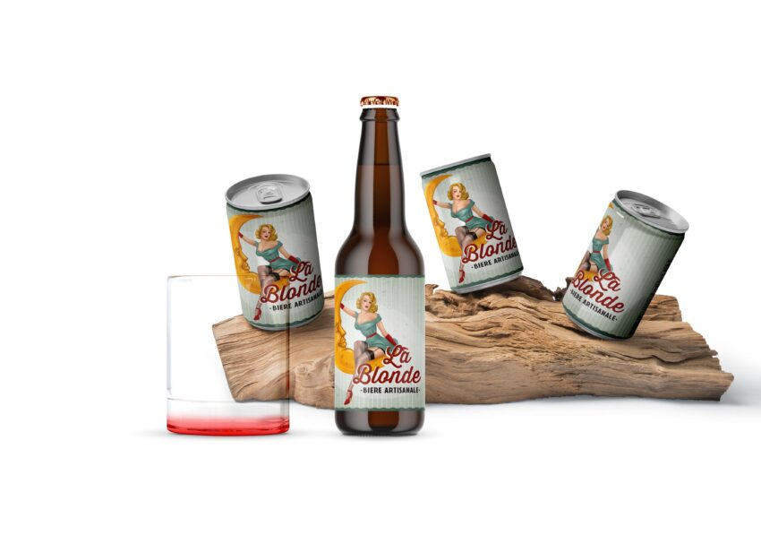 Beer Can Mockup