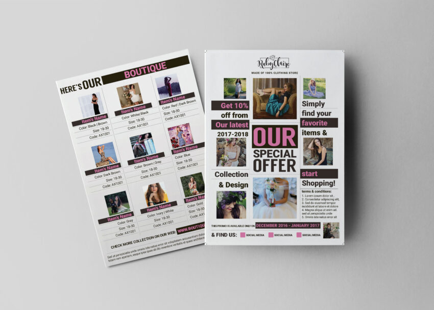 Captivating Sales Flyer Design Template