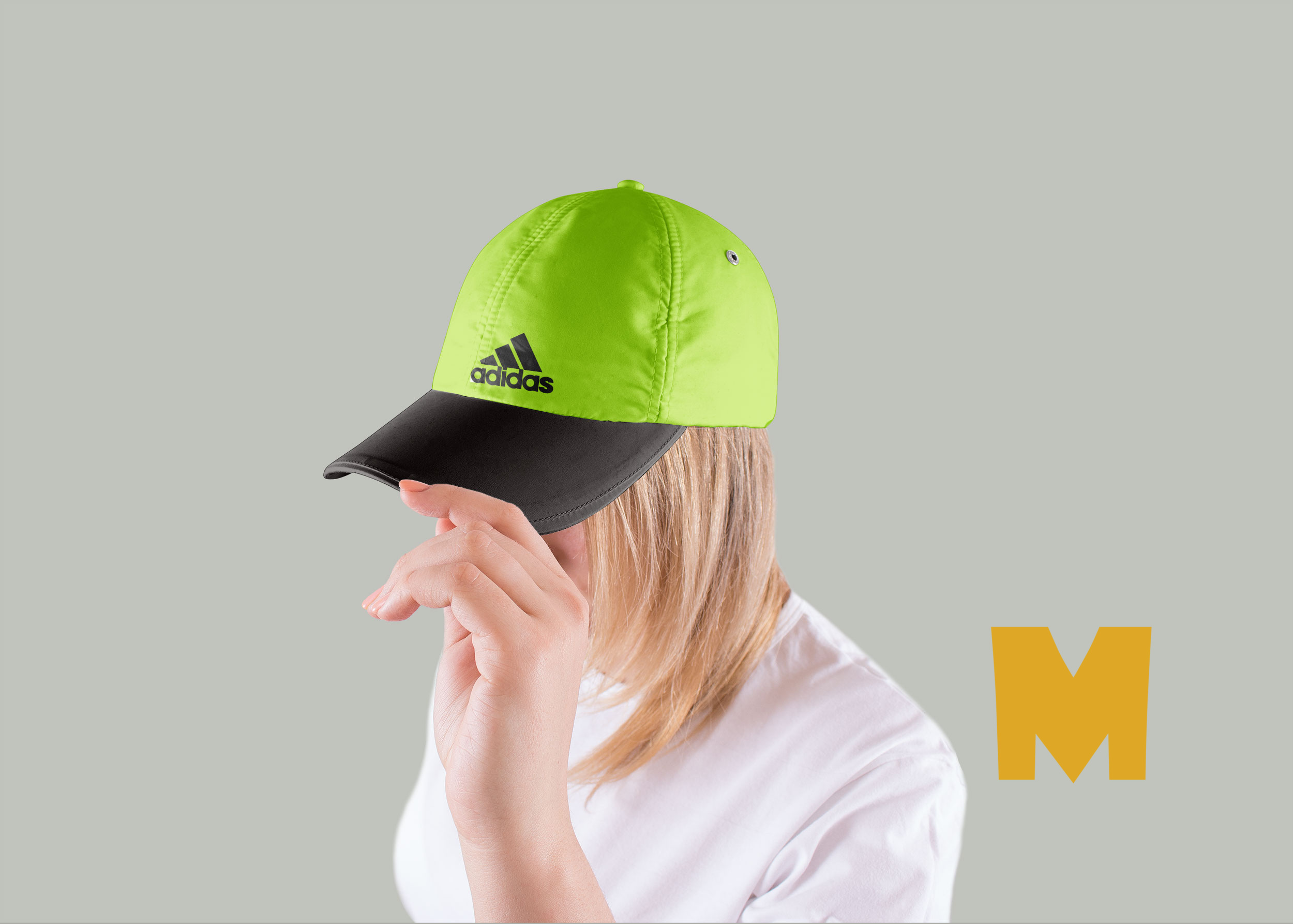 Base Ball Girl Cap Design Mockup
