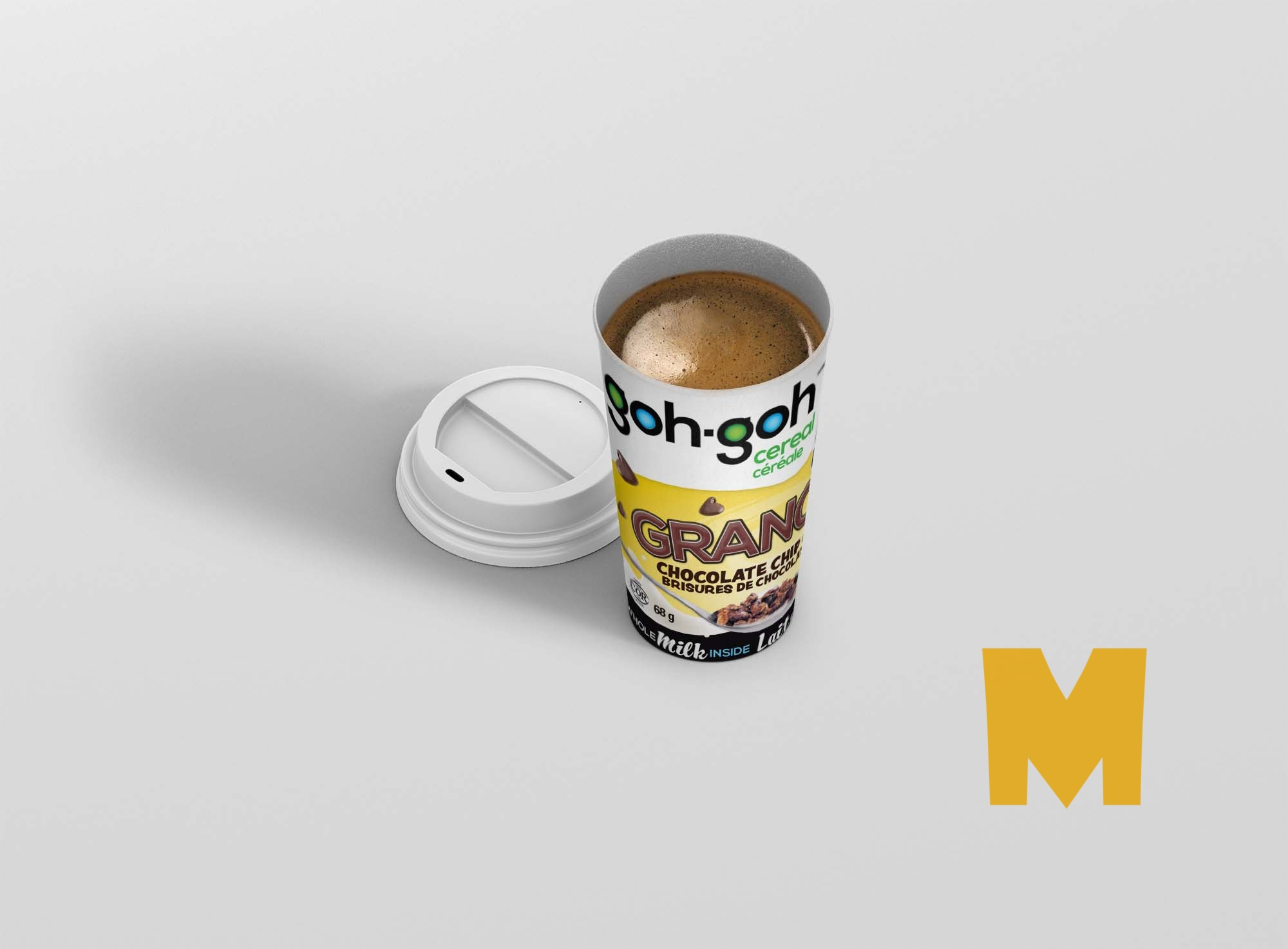 Coffee Glass Mockup