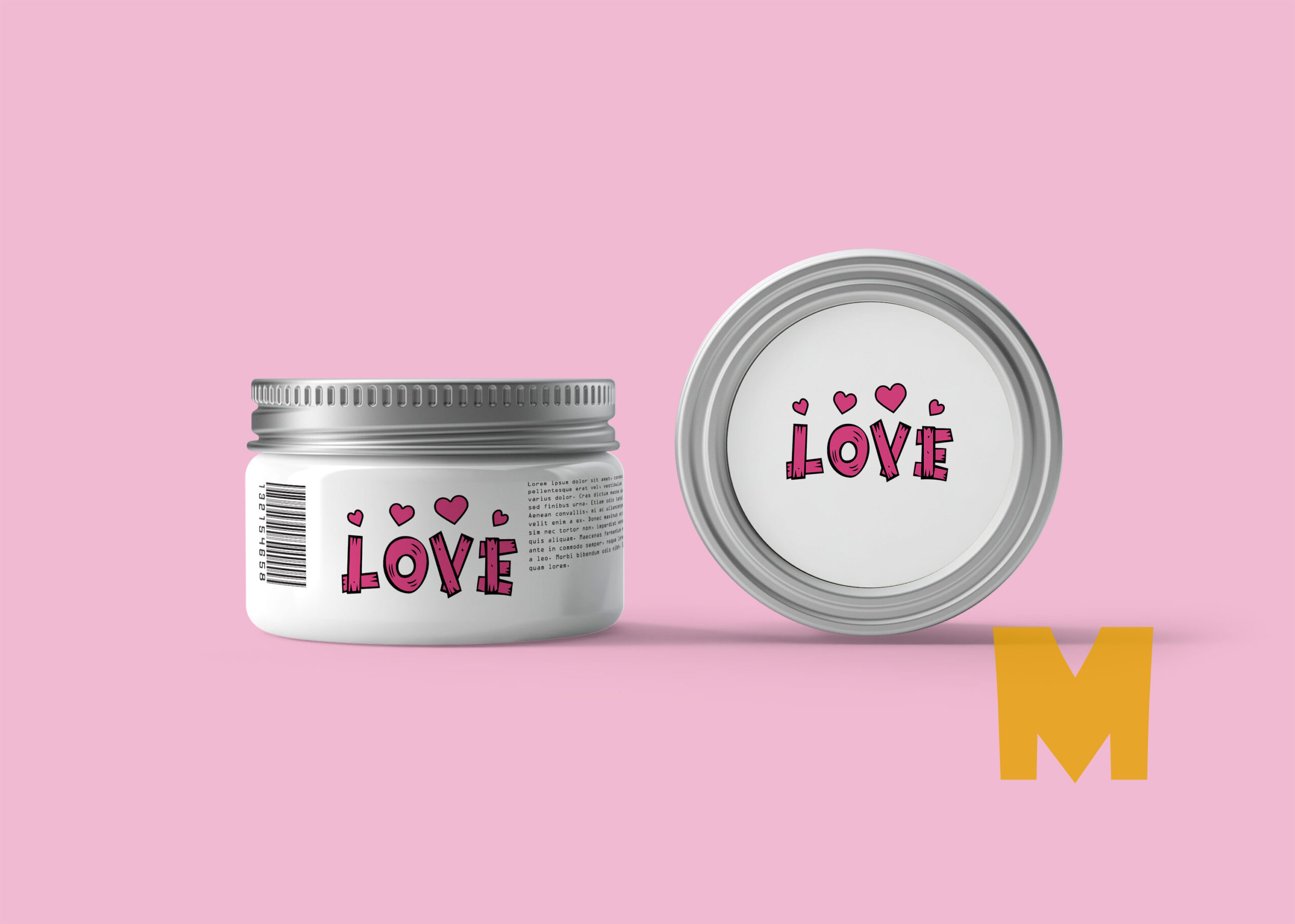 Cosmetic Cream Packaging Mockup