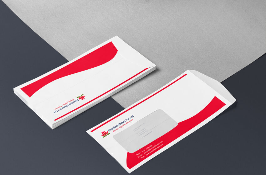 Love Envelope Letter Mockup