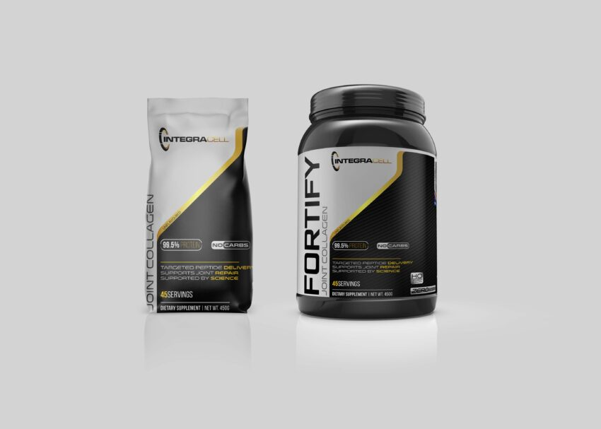 Protein Packaging Mockup
