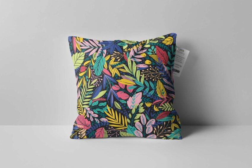 Beautiful Square Pillow Designs Mockup