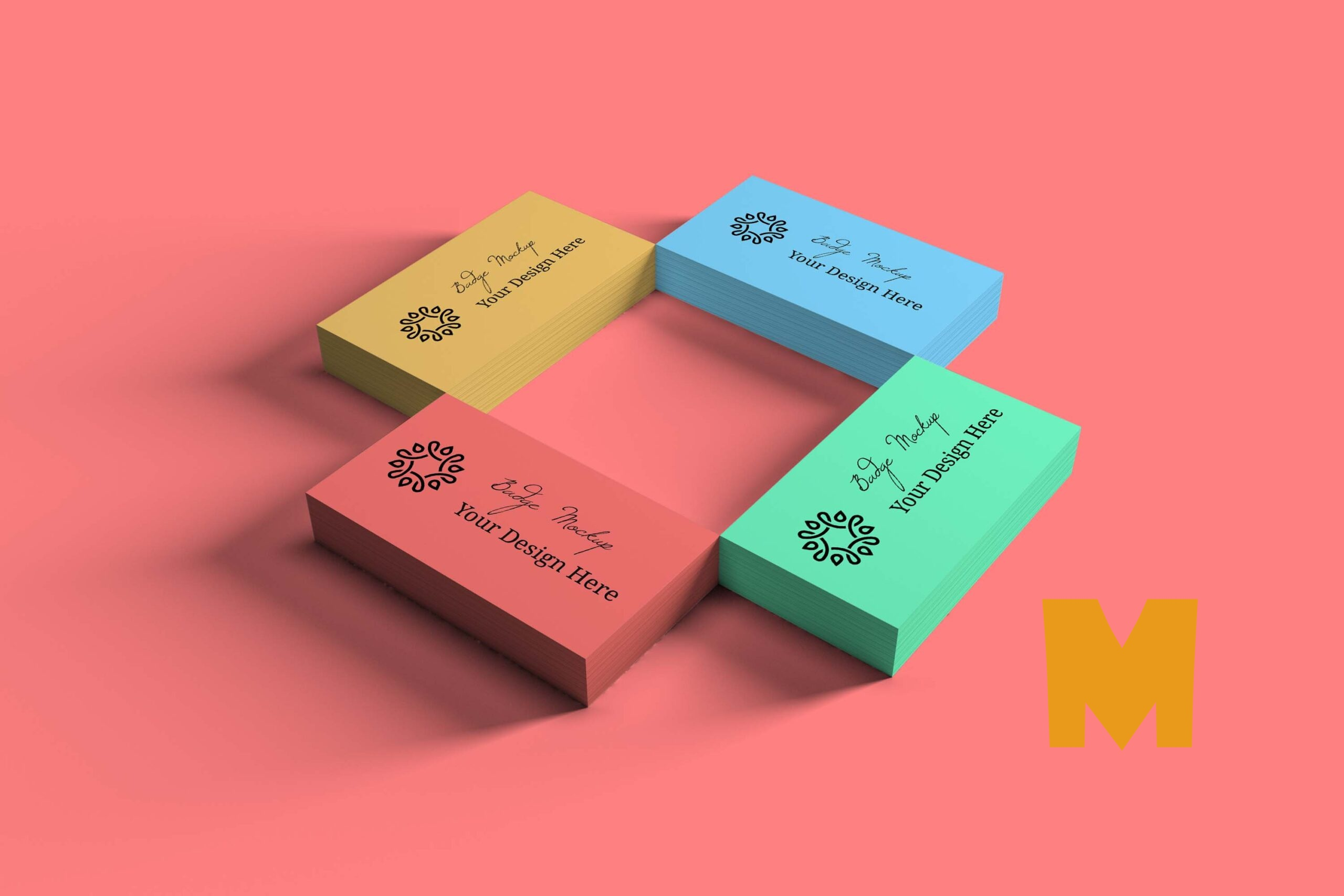Full Business Card Mockups