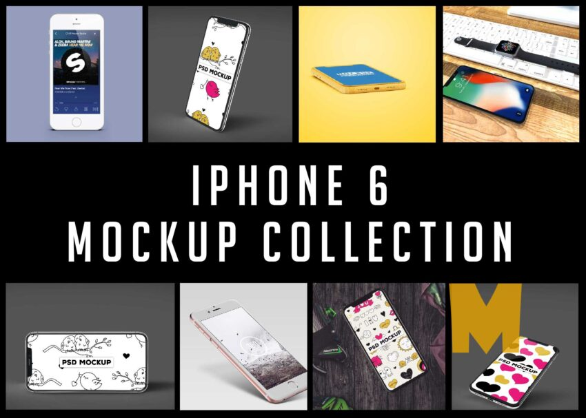 iphone 6 Mockup Collection