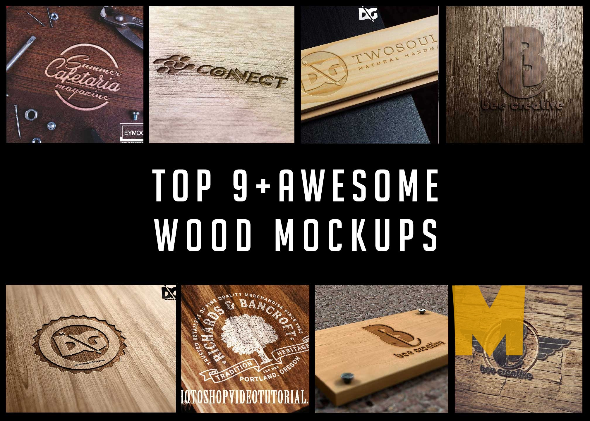 Top 9+ Premium Awesome Mockups