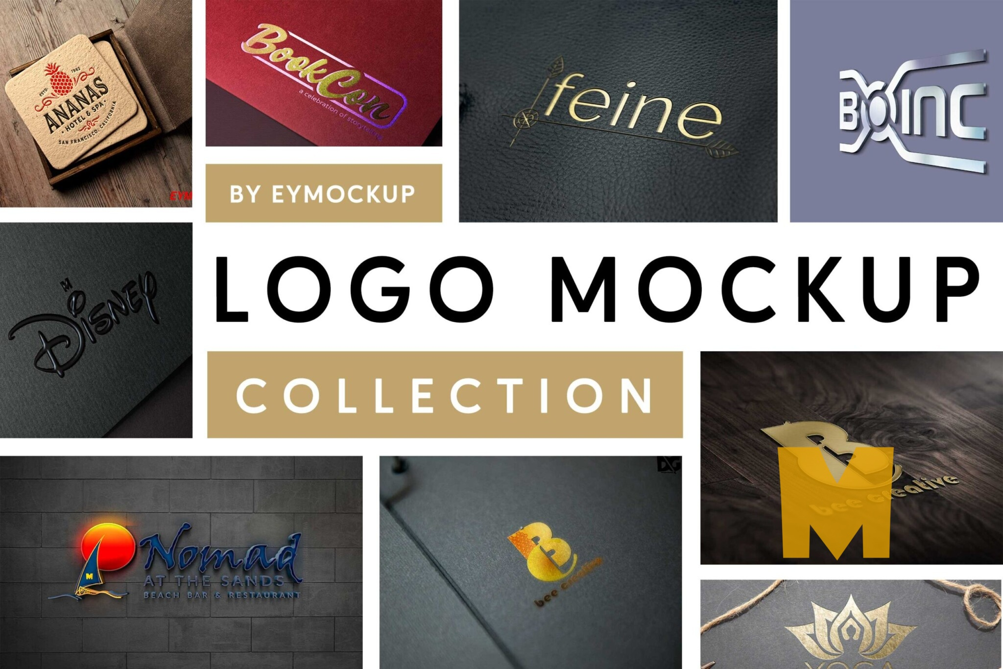 Catching Logo Mockups