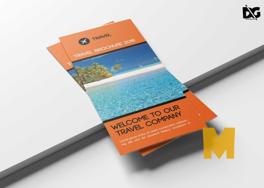 Travel Tri-Fold Brochure Templates