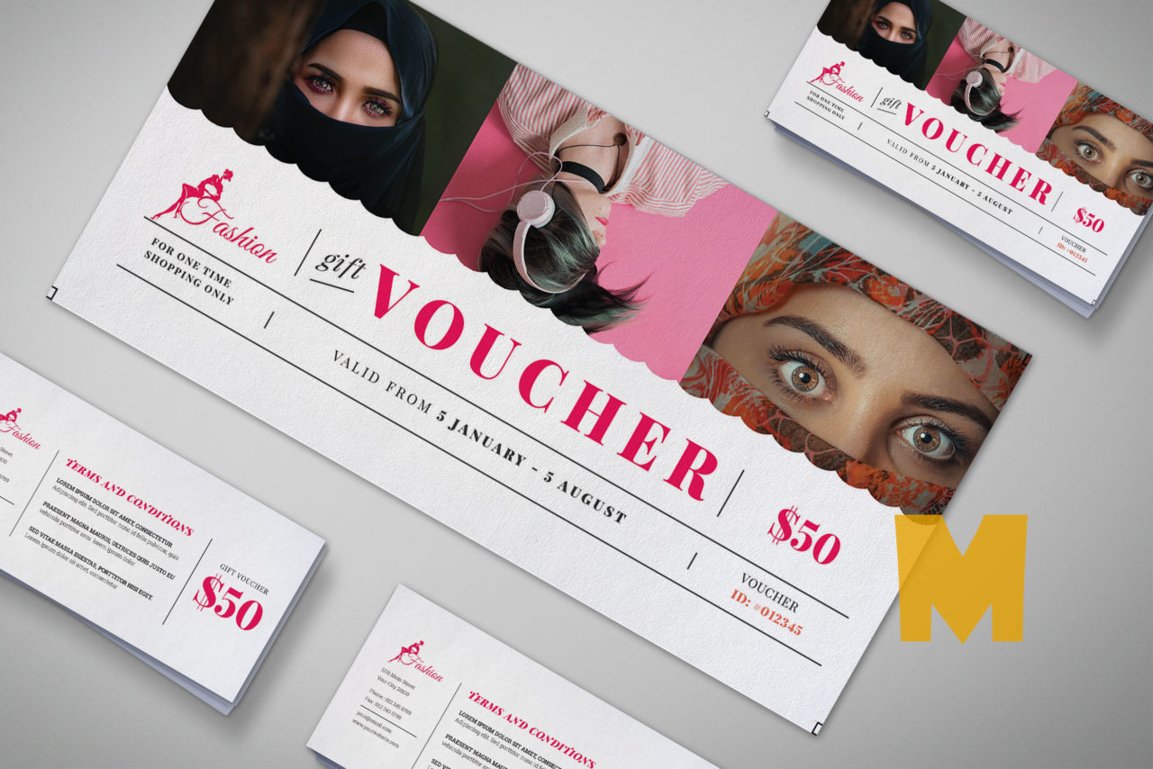 Garment Gift Voucher Template