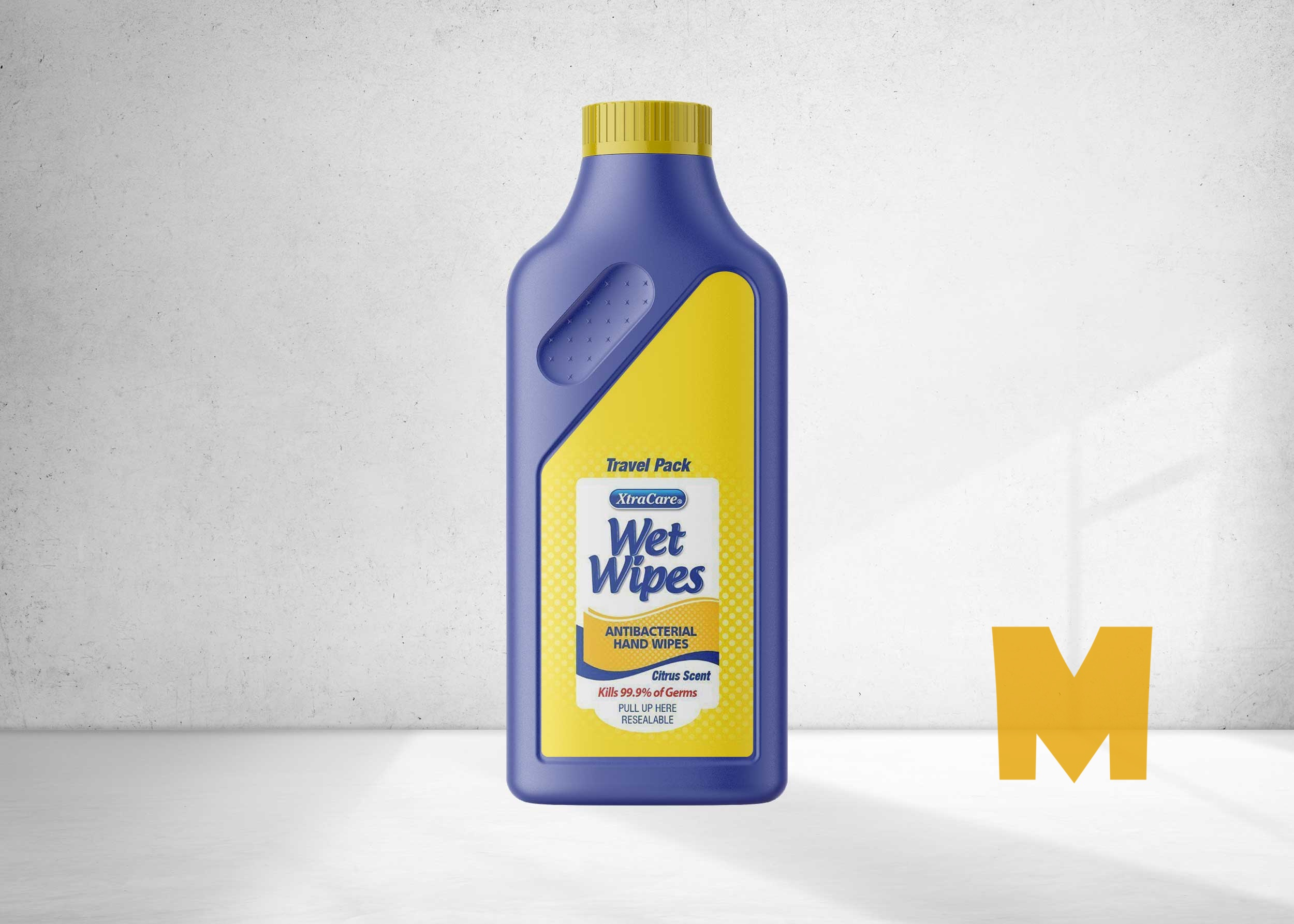 Laundry Detergent Bottle Mockup