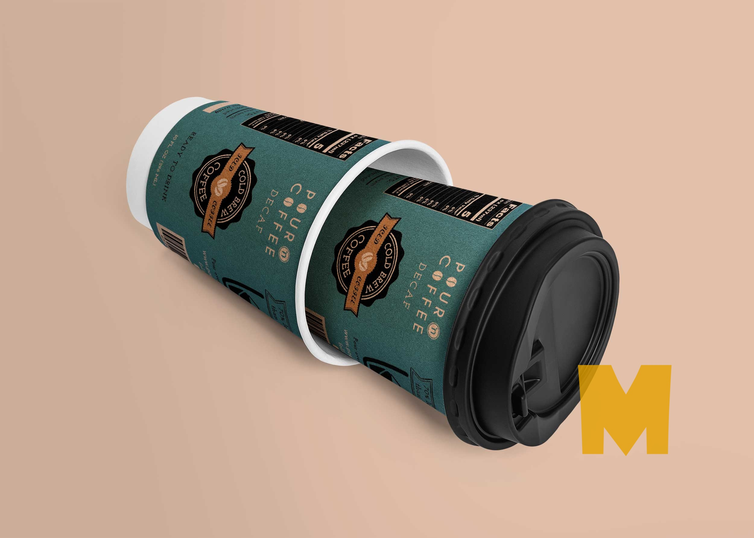 Printable Coffee Cup Mockup