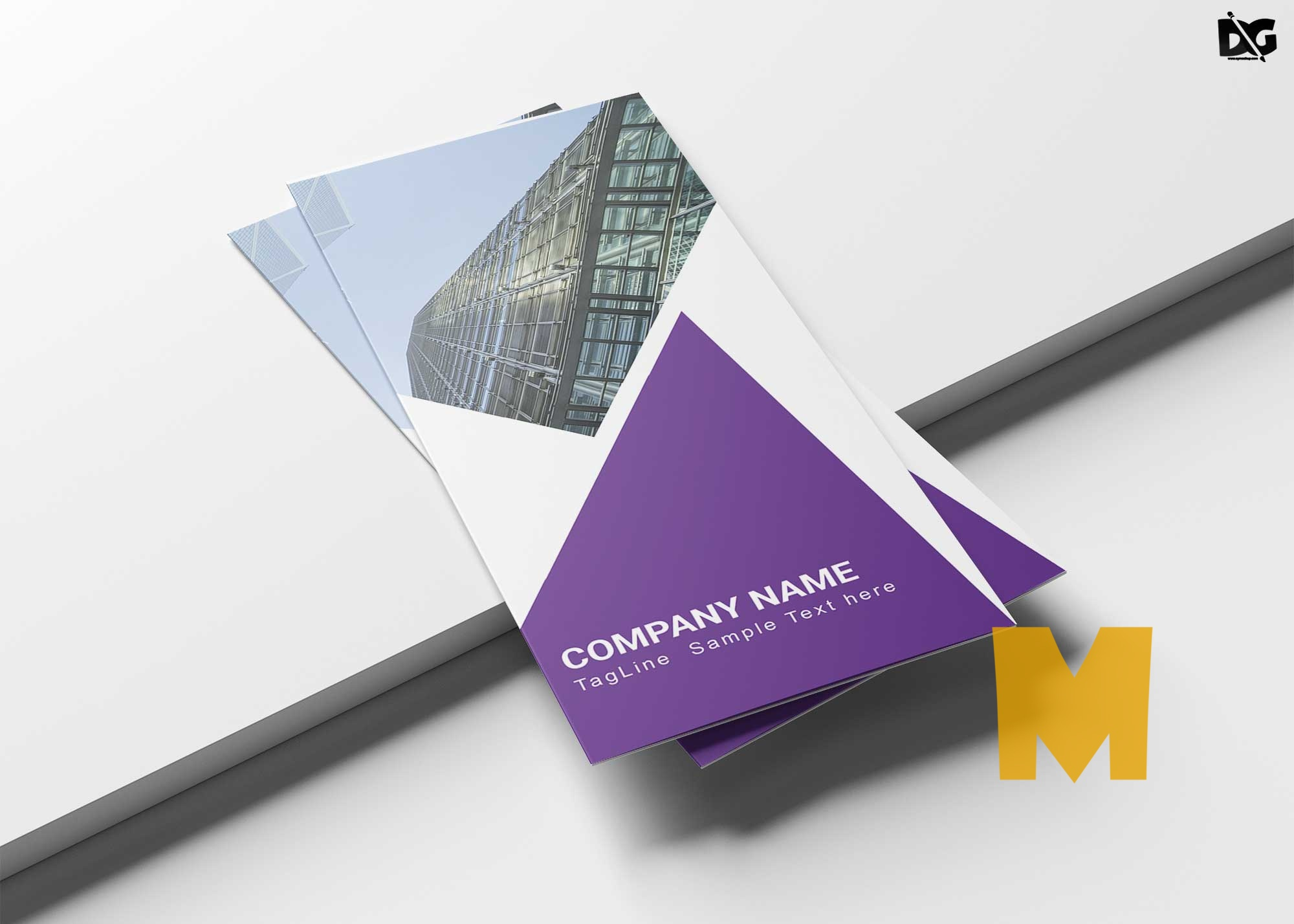 Consultants Tri-Fold Brochure Template