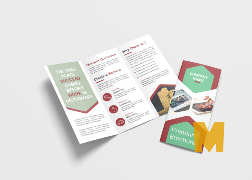 Marketing Tri-Fold Brochure Template