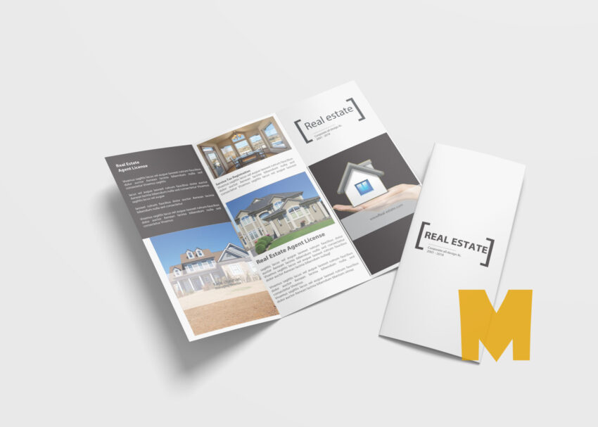 Real Estate Tri Fold Template